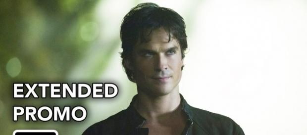 The Vampire Diaries 8x01: Damon Salvatore (Foto: CW/YouTube)