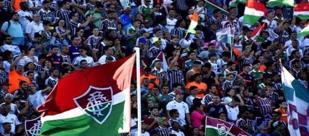 Torcida do Fluminense lança campanha de apoio ao time antes do clássico diante do Flamengo (Foto: Arquivo)