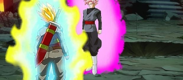 TRUNK SJ2 VS BLACK ROSE DBSUPER