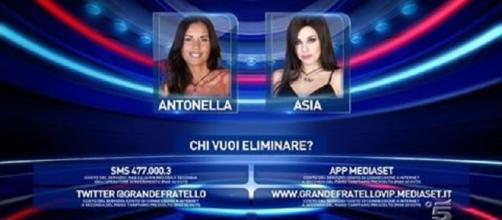 Antonella Mosetti e Asia Nuccetelli