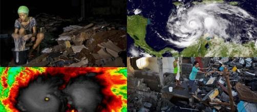Deux images de la dévastation à Cuba après le passage de l'ouragan Matthew (montage Jef T. – Blasting News)