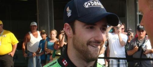 James Hinchcliffe and Sharna Burgess topped the 'DWTS' Most Memorable Year leaderboard. Chuck Carroll/Wikimedia