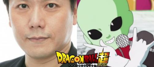 Kazunari Tanaka, voz del réferi del torneo universal.