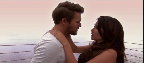 Steffy e Liam si baciano, soap opera Canale 5