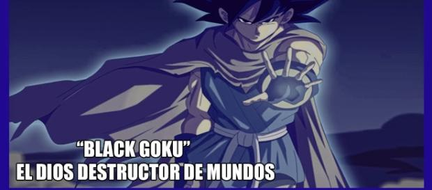 BLACK GOKU DESTRUCTOR DE MUNDO