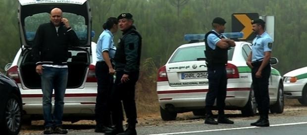 Casal encontrado também ferido nas proximidades, tendo morrido o homem