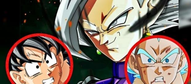 """""""FanArt"""" de la fusión de Goku Black realizado por Javier."""