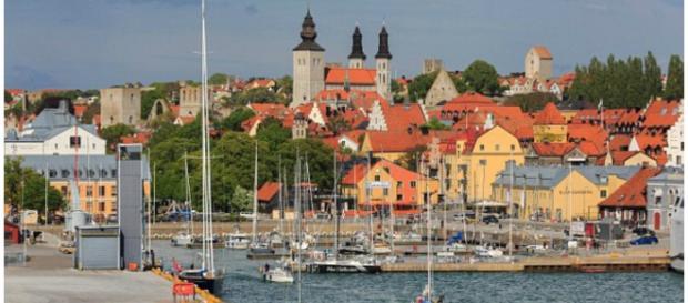 Foi na cidade de Visby, na Suécia, que o crime aconteceu
