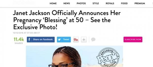 Janet Jackson, enceinte de son premier enfant à 50 ans