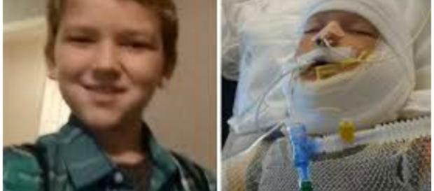 Kayden Culp se encontra em coma no hospital