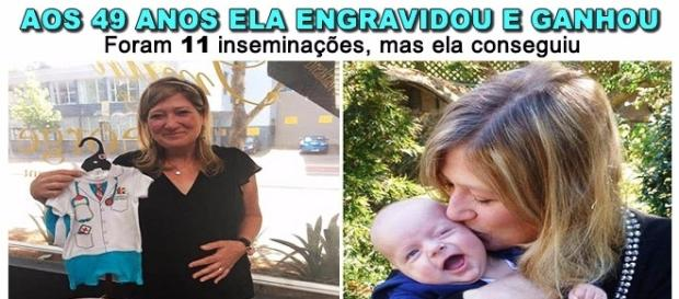 Mulher passa por 11 inseminações para engravidar
