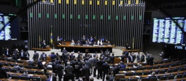 Reunião do plenário para votação da PEC 241