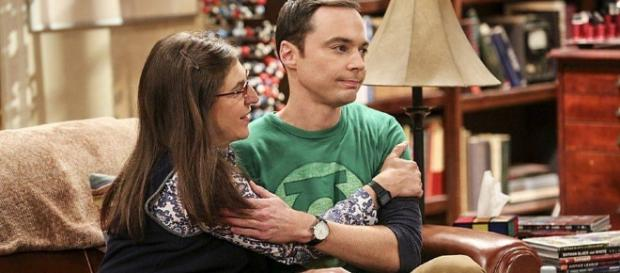 The Big Bang Theory 10x04 Sheldon e Amy insieme - peru.com