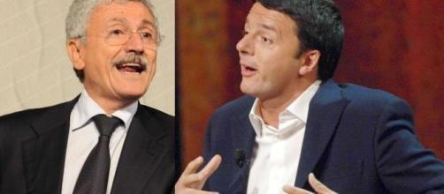 D'Alema sfida Renzi presentando il suo ddl costituzionale