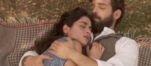Il Segreto anticipazioni, Ines muore tra le braccia di Bosco