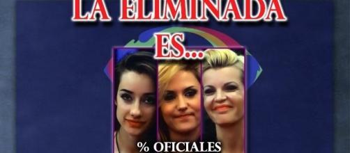 Los porcentajes oficiales de la eliminada