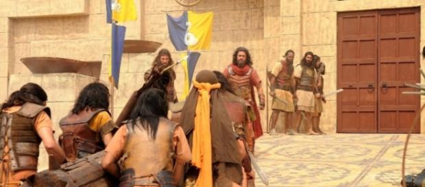 'A Terra Prometida': queda da muralha de Jericó será dia 17
