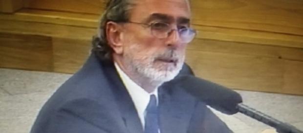 Correa declarando en el juicio