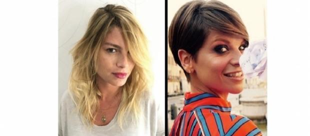 Emma Marrone ed Alessandra Amoroso: amiche diverse in concerto e nella vita.