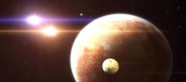 KEPLER-1647 è il pianeta circumbinario più grande mai scoperto, per dimensione e massa simile a Giove