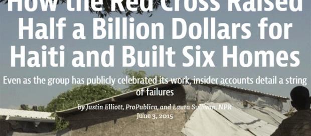 La gabegie de l'aide internationale perdurera-t-elle en Haïti ?