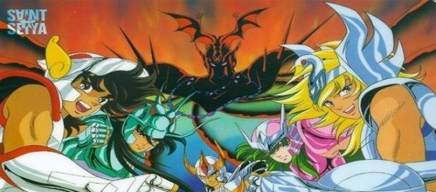Los guerreros que marcaron toda una época en la historia del Anime.
