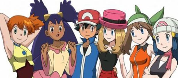pokémons de género femenino dentro de la franquicia pokémon.