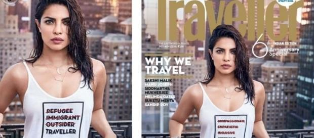 Priyanka Chopra's Magazine Cover In T-Shirt, Landed her in ... - threemad.com