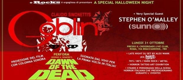 Serata evento ad Halloween al Crossroads di Roma