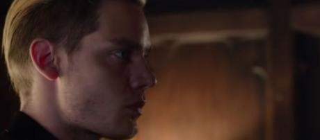"Jace (Dominic Sherwood) in ""Shadowhunters""/Photo via screencap, ""Shadowhunters"""