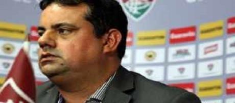 Jorge Macedo, gerente-executivo de futebol do Fluminense (Foto: Net Flu)