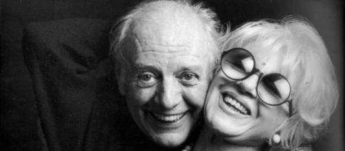 Dario Fo e la moglie Franca Rame