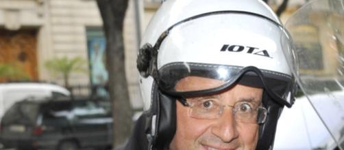 François Hollande en scooter (affaire Gayet)