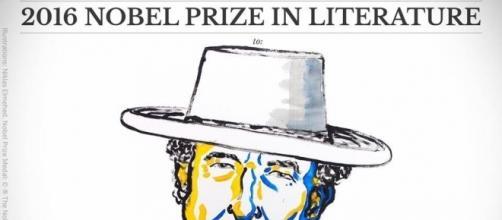 Il cantautore #BobDylan è neo 'Nobel-Prize' per la Letteratura. #BlastingNews