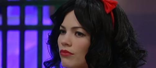 Liz Webber celebrates Halloween 2016 with Franco - Image via ABC/GH