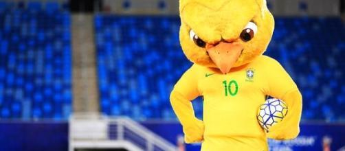 Novo mascote da Seleção Brasileira tem feição zangada