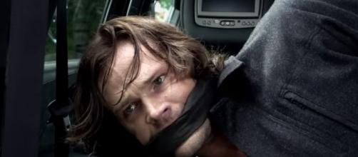 Sam kidnapped in 'Supernatural' - Image Via The CW YouTube
