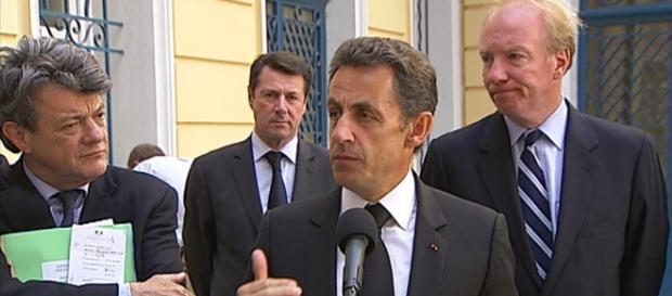 Conférence de presse de Nicolas Sarkozy - CC BY