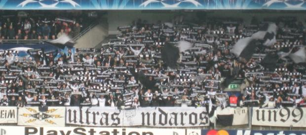 Fans del Rosenborg BK (Noruega)