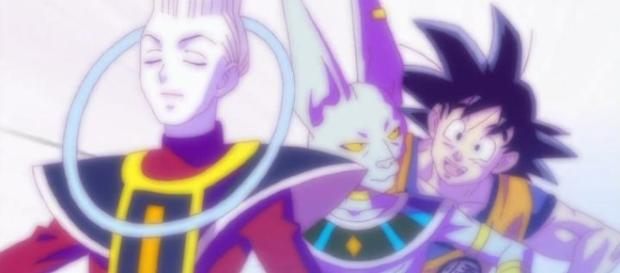 WISS, BILLS Y GOKU DRAGON BALL SUPER
