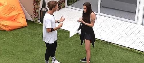 Asia e Andrea Damante discutono: anticipazioni GF VIP