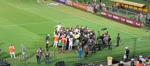 Fluminense quer anular resultado do clássico contra o Flamengo.