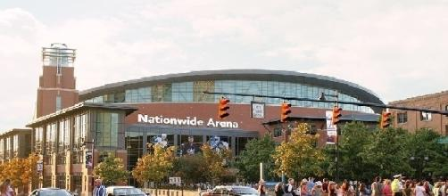 Nationwide Arena, home of the Columbus Blue Jackets (credit: Tysto/Wikimedia Commons)