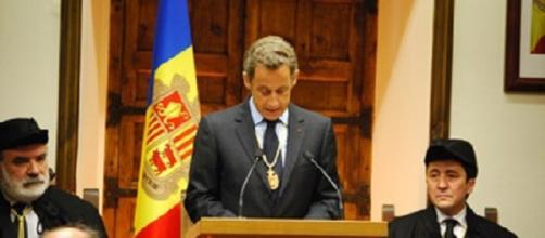 Nicolas Sarkozy, cuando hizo una visita de Estado a Andorra.