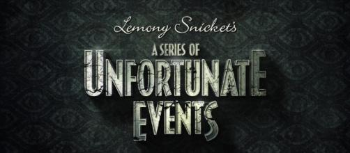 "The title card for the new series: ""A Series of Unfortunate Events."" Photo from Netflix."