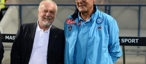 Verso Napoli-Roma il presidente e l'allenatore insieme