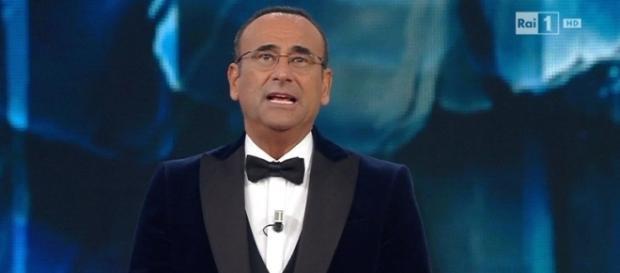 Carlo Conti, presentatore Festival di Sanremo 2017