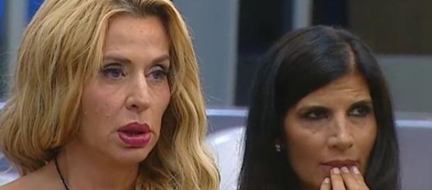 Grande Fratello vip 2016, Pamela Prati con Valeria Marini