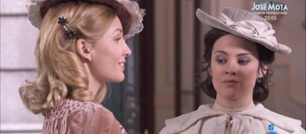 Una Vita, anticipazioni novembre: Celia ricca, Marialuisa gelosa di Daria