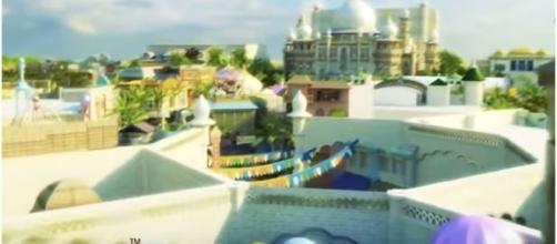 Bollywood theme Park Dubai / Photo screencap from BollywoodHungama.com via Youtube.com